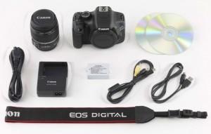 Комплектация поставки фотокамеры Canon EOS 550D