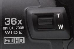 Новый зум-переключатель Nikon P500
