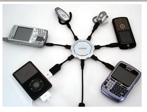 Универсальное зарядное устройство для мобильных телефонов