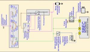 Электрическая схема управления кондиционером