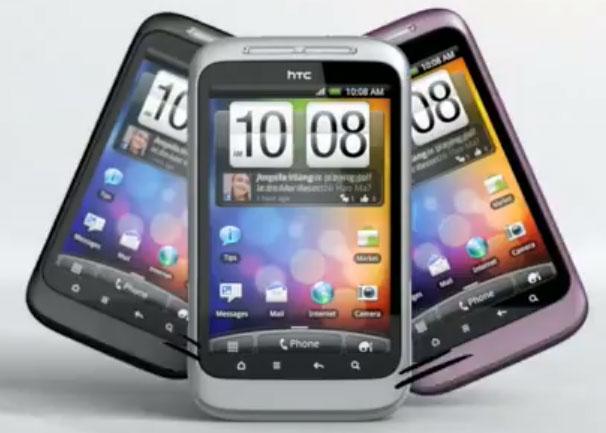 Смартфон HTC Wildfire S