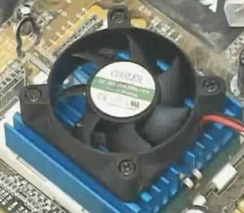 Техническое обслуживание кулера компьютера