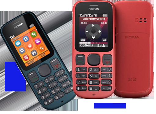 Телефоны Nokia 100 и Nokia 101