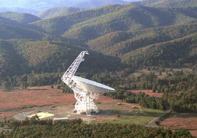 Радиотелескоп в Грин-Бэнк