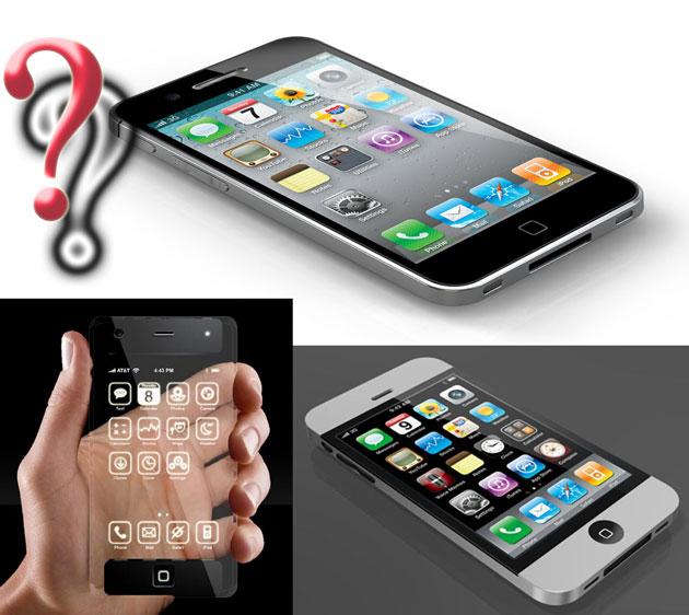 Предполагаемый внешний вид iPhone 5