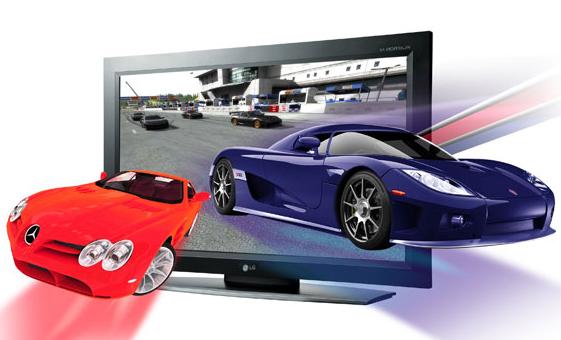 3D-телевизор LG M4210D-B21J