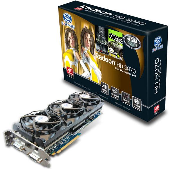 Видеокарта Radeon HD 5970
