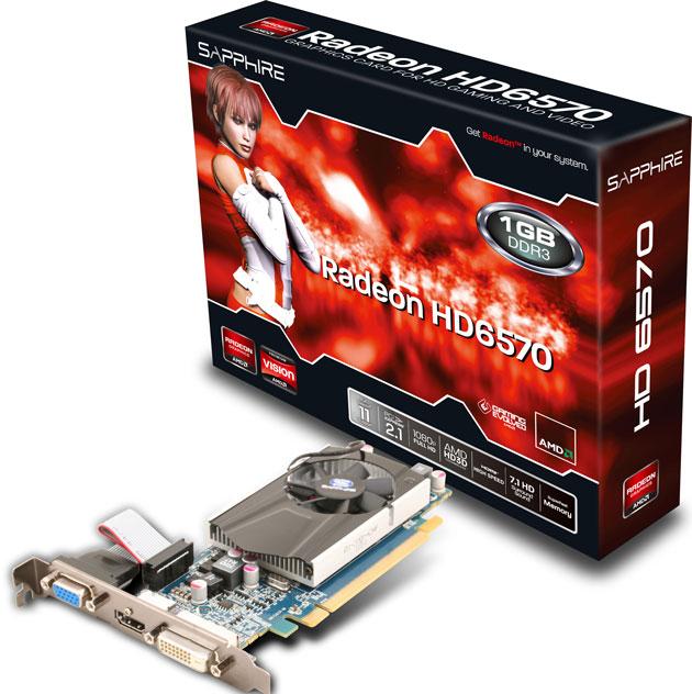 Видеокарта Radeon HD 6570