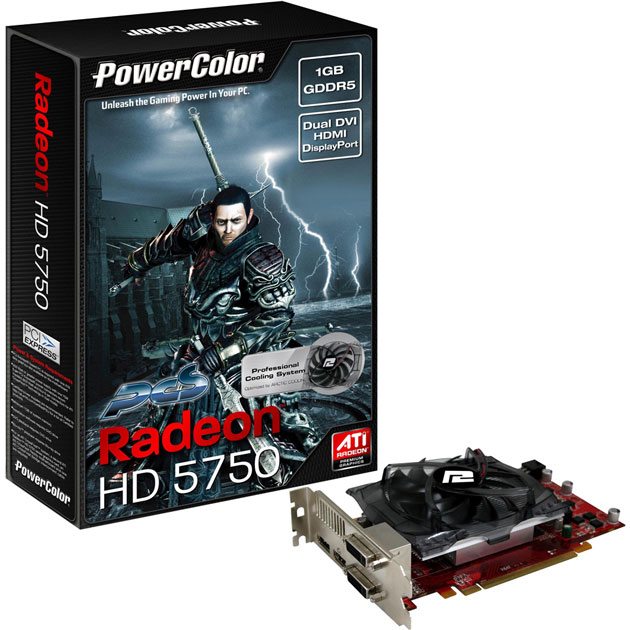 Видеокарта ATI Radeon 5750