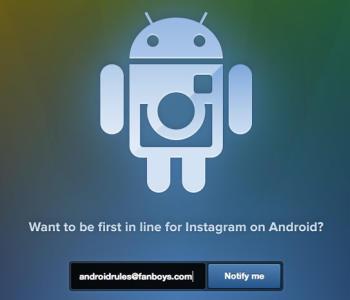 Instagram на платформе Android
