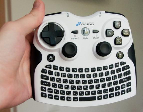 Как сделать клавиатуру как геймпад