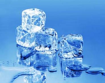 Лед из холодильника