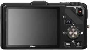 Задний вид Nikon Coolpix S9300