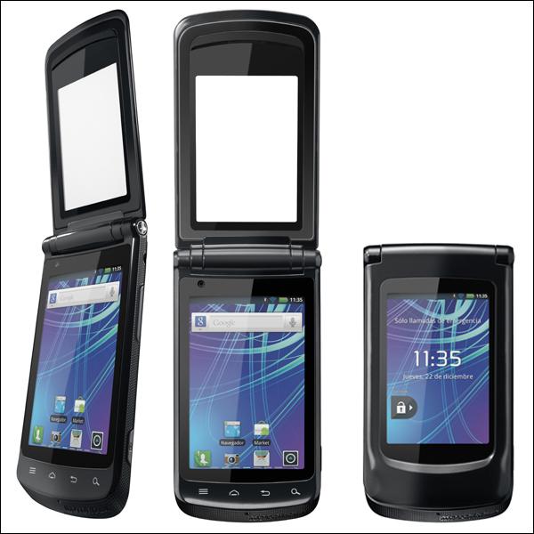 Смартфон-раскладушка Motorola Motosmart Flip