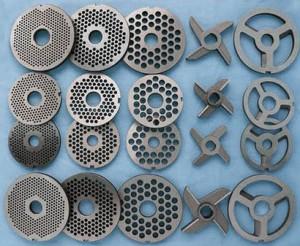 Металлические диски и ножи электромясорубки