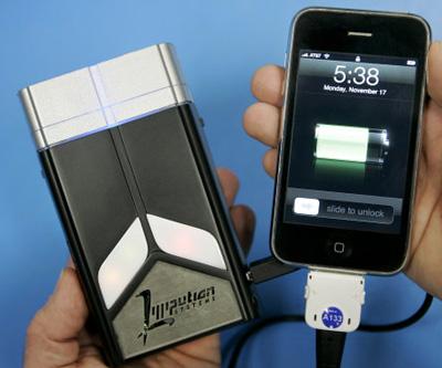 Зарядное устройство на топливном элементе для iPhone