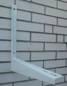Монтаж кронштейна наружного блока сплит-системы