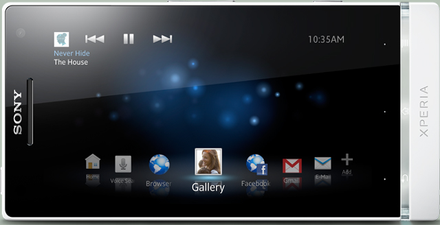 4.3-дюймовый HD дисплей смартфона Xperia S