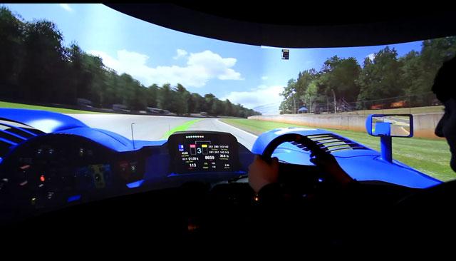 Процесс игры на Система Motion Simulation TL1