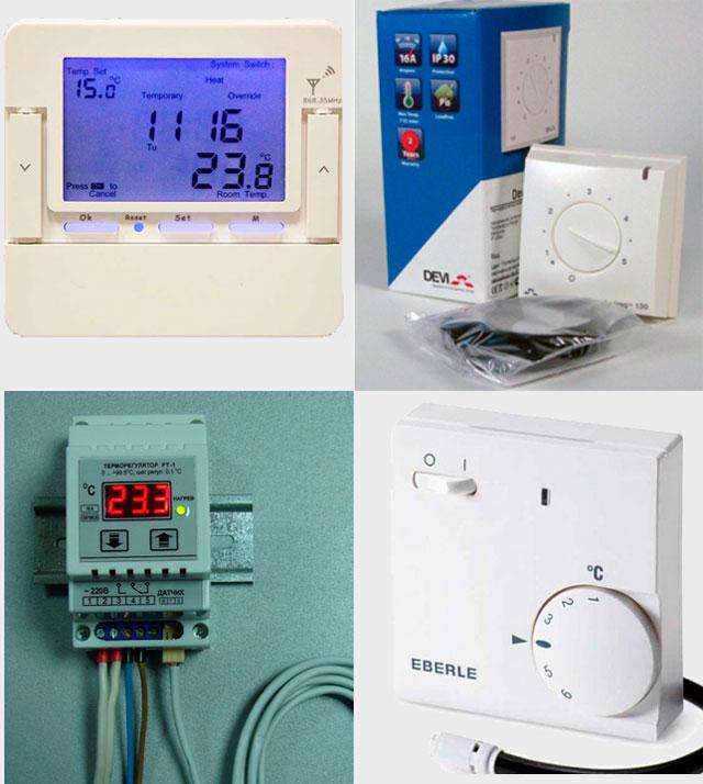 Терморегулятор для электроотопления