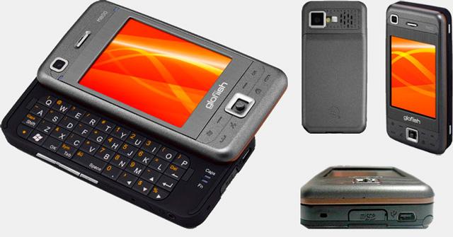 Внешний вид смартфона Смартфон Glofiish M800