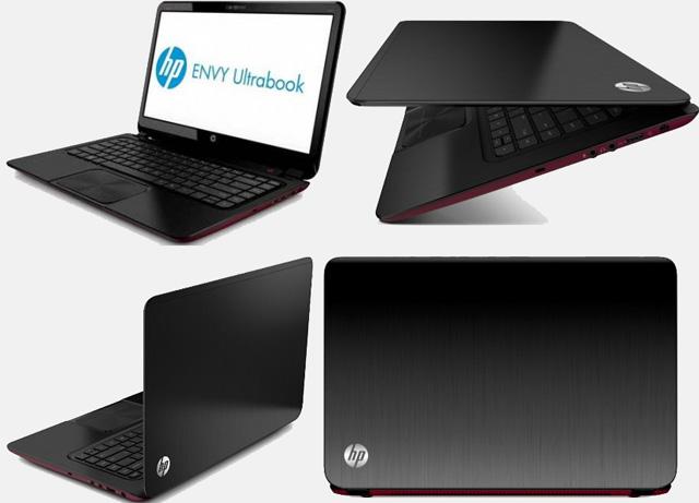 Внешний вид ультрабука HP Envy 6