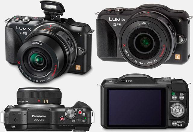 Беззеркальная фотокамера Panasonic Lumix GF5