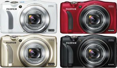 Цветовые решения корпуса фотоаппарата FinePix Z800EXR