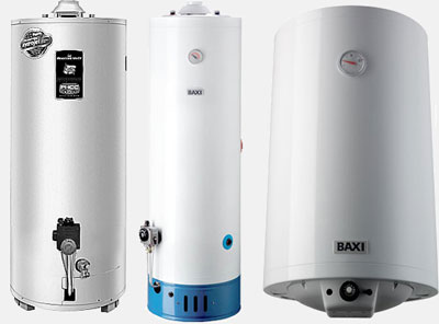 Газовые водонагревательные котлы (бойлеры)