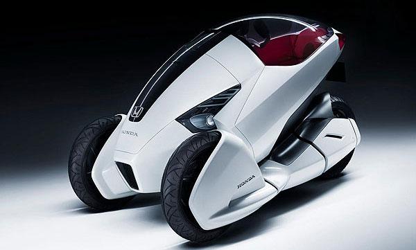 Концептуальная модель электромобиля от компании Honda