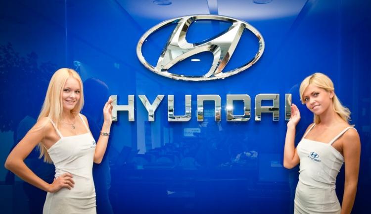 "Презентация в галерее ""Hyundai"" (модели BAZAmodel)"