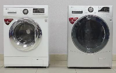 Сравниваем стиральные машины LG серию А8 с 96-ой