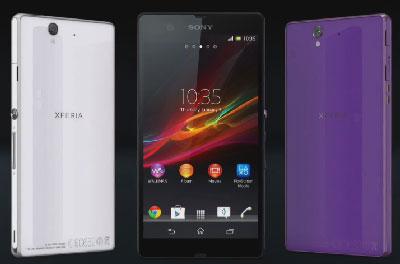 Sony Xperia Z: пылеводостойкий флагманский 5-дюймовый смартфон