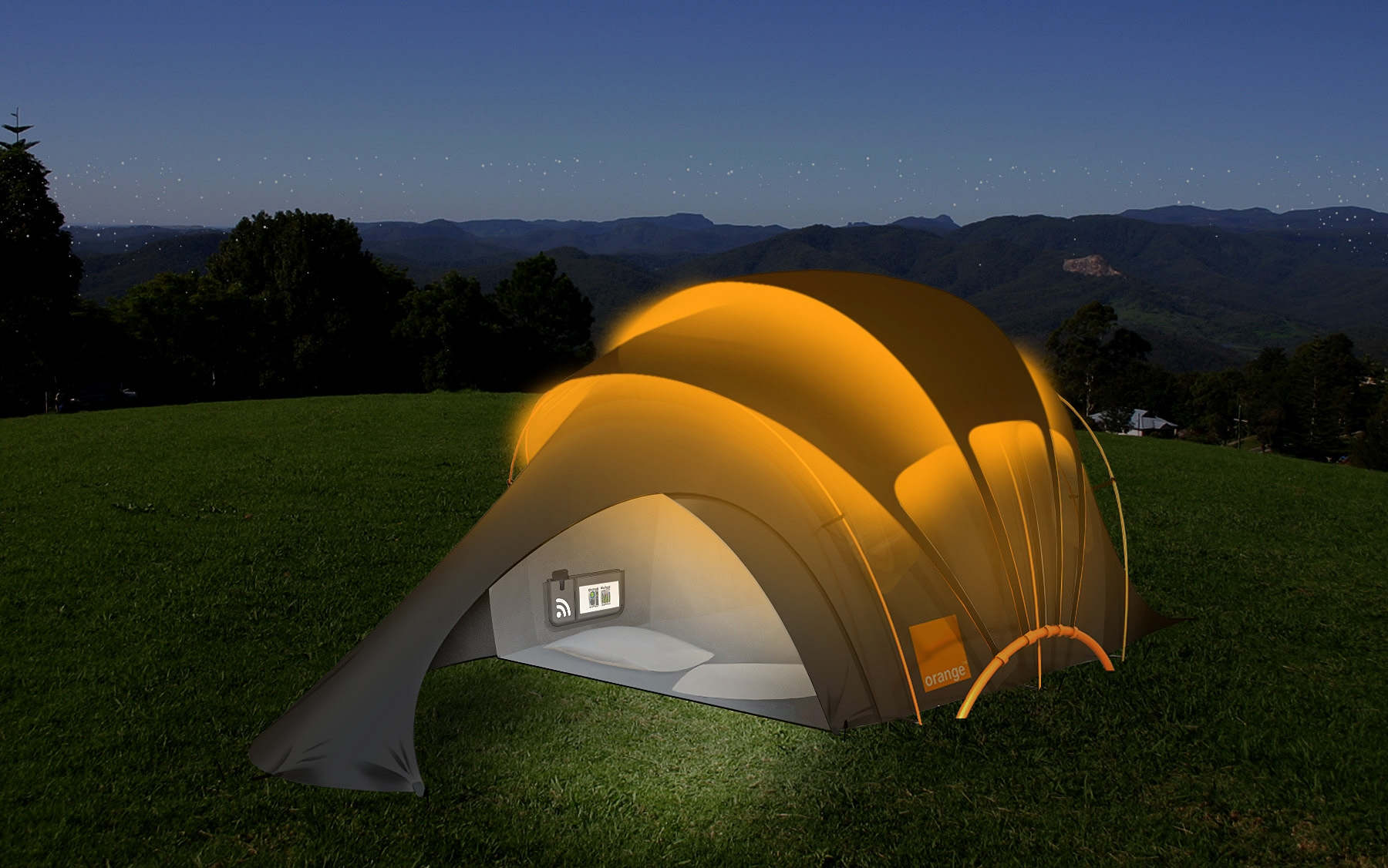 Glowing-Camping-Tent