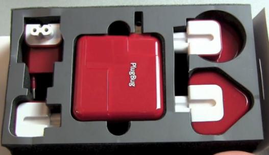 Универсальное зарядное устройство для гаджетов Apple PlugBug World