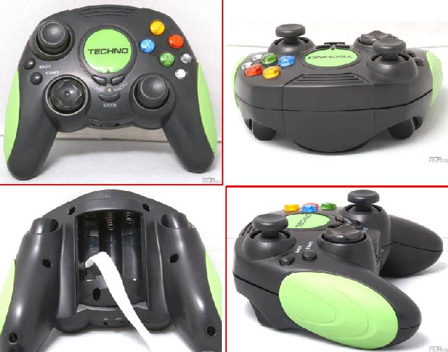 Игровой манипулятор «Techno PGXU-6600»