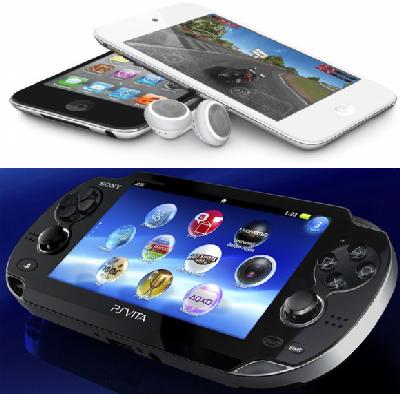 Сравнение Sony PlayStation Vita или iPod touch 5