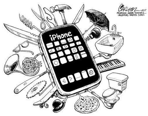 Несколько отличий iPhone (ОС iOS) от Android-смартфонов