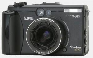 Фотокамера Canon PowerShot G5