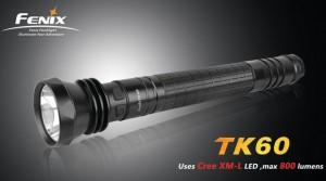 Светодиодный фонарик Fenix TK60