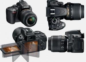 Цифровая фотокамера Nikon D5100