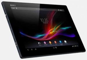 Планшет для отдыха на море Sony Xperia Tablet Z