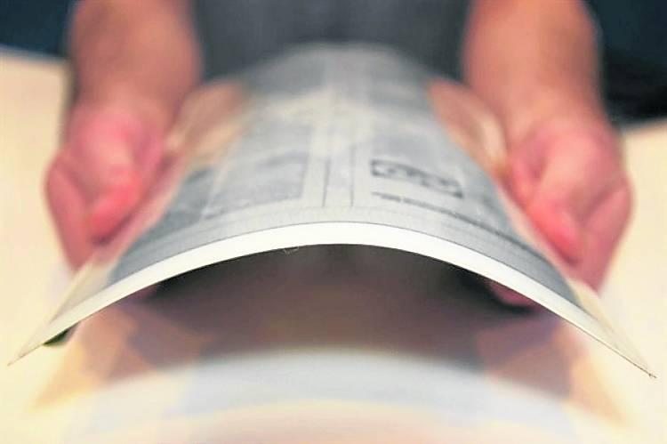 PaperTab – бумажный планшет