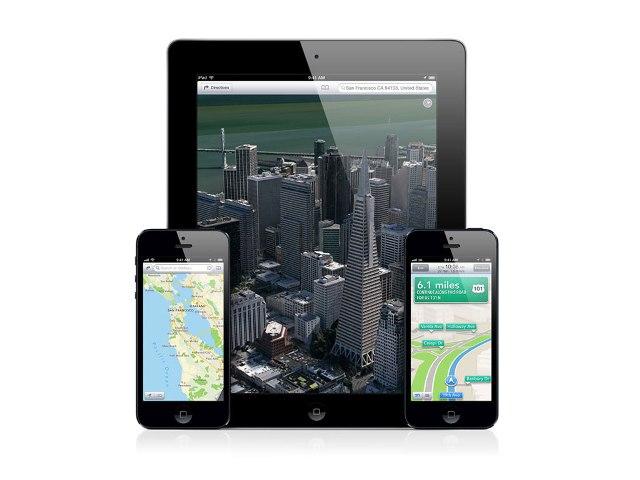 Apple улучшит карты из iPhone