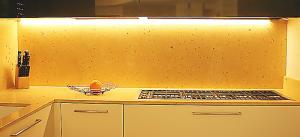 Подсветка кухонных столешниц