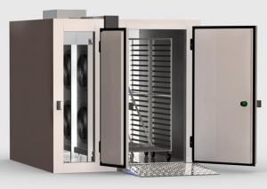 Холодильные камеры для заморозки или охлаждения продуктов