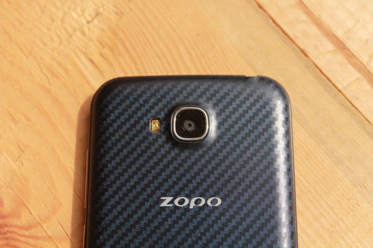 Zopo ZP700 камера