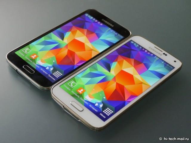Samsung Galaxy S5 LTE-А  сравнение