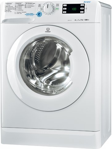 Фото стиральной машины Indesit Innex NWSK 7125 L