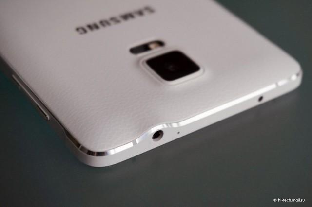 Samsung GALAXY Note 4 глазок камеры